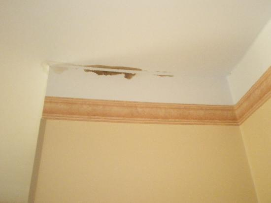 Rixwell Old Town Hotel: One damp patch on the ceiling