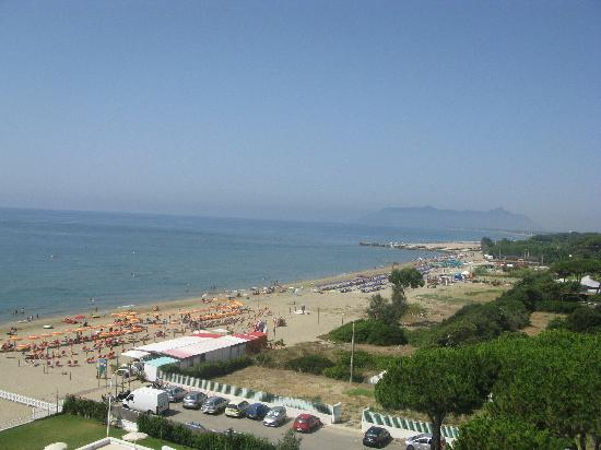 Hotel Torre del Sole: view from the balcony