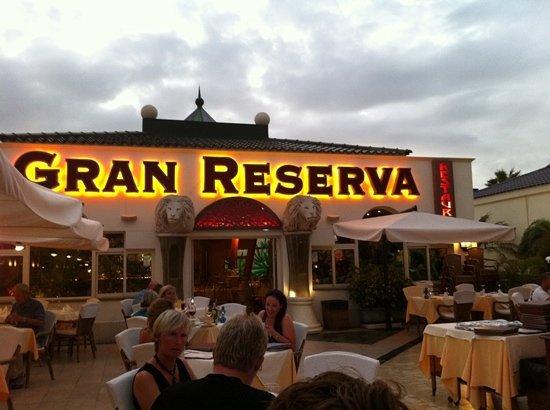 Roma : gran reserva very good choice!