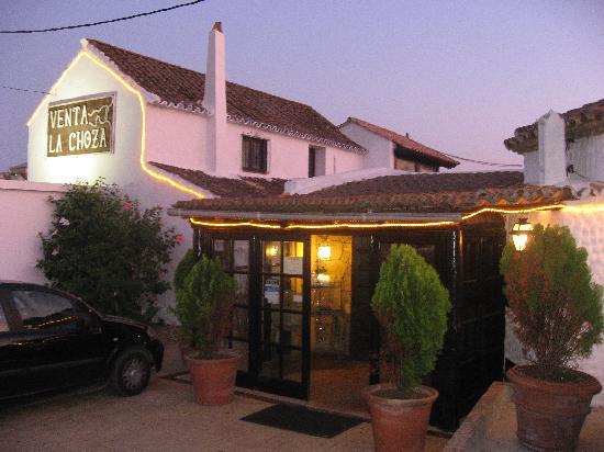 Restaurante La Choza : entrada principal