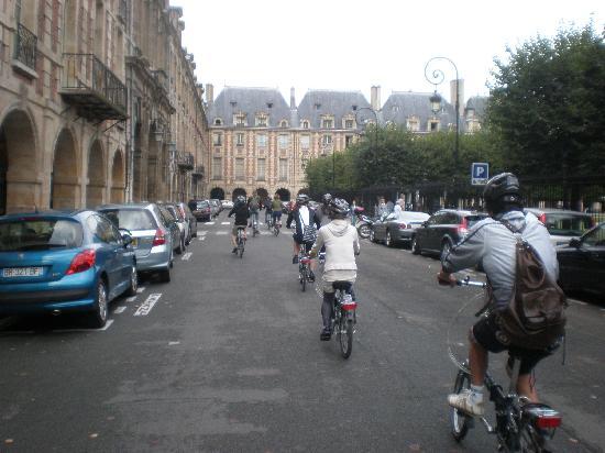 Bike About Tours: Biking around the elite part of Paris