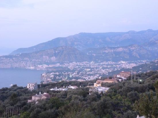 Il Nido Hotel Sorrento: vista desde el desayunador