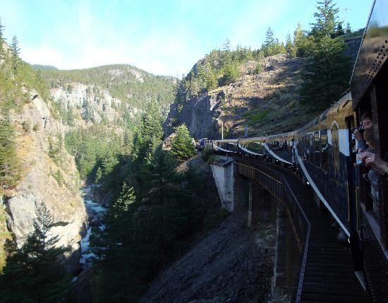 The Rocky Mountaineer: Awesome Scenery