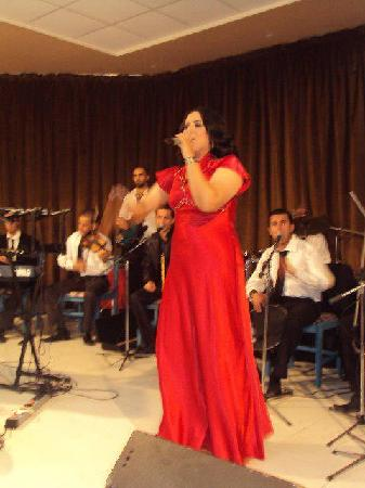 Houda Yasmine Hammamet: she on of the tunisian singers , i was ther when she give a show in the hotel , they present a l