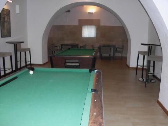 Sirenis Hotel Club Siesta: Pool Tables