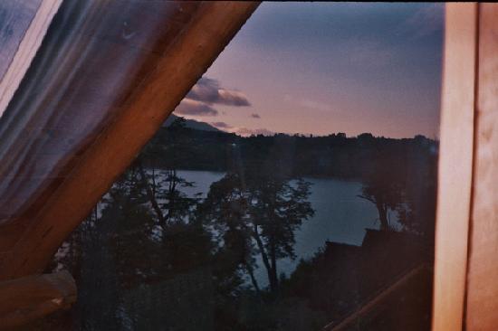 Cabanas Huitan Co: Villa La Angostura ,amaneces desde la cabaña,el paraiso !!!