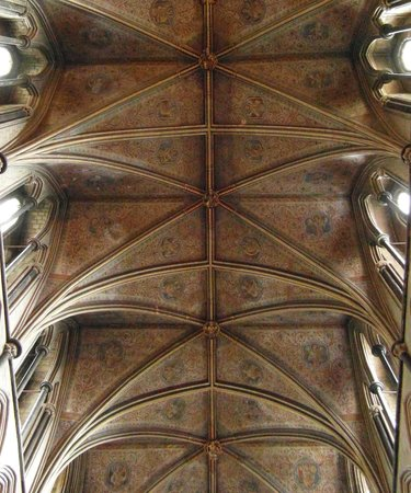 Worcester Cathedral: Looking up