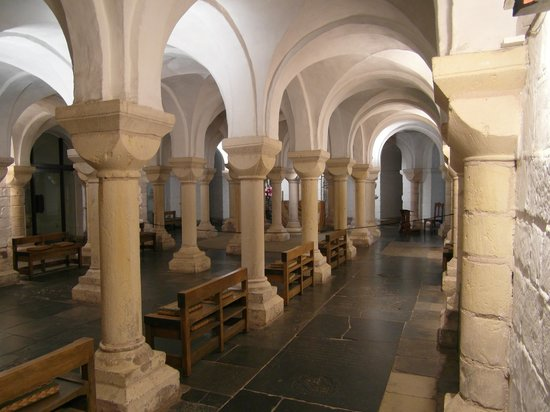 Worcester Cathedral: The crypt