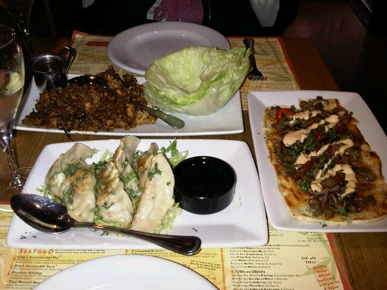 """Ling and Louie's Asian Bar & Grill: Appetizers at Ling & Louie""""s"""