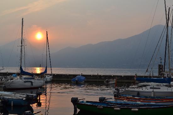 Hotel Danieli la Castellana: il tramonto...