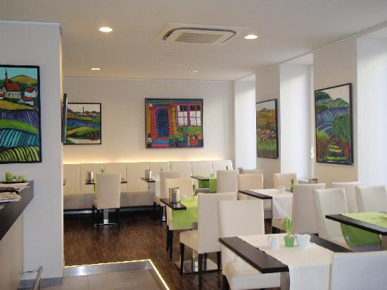 Art Hotel Lauterbach: der Frühstücksraum