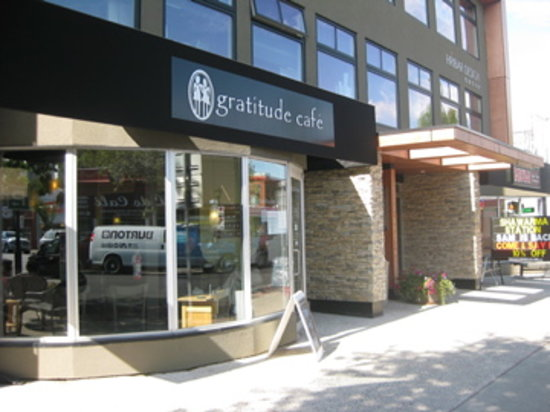 Gratitude Cafe from the outside
