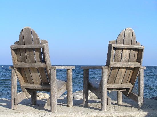 Norrland Resort: Waterside seating
