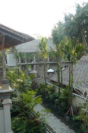Puri Sunia Resort: view from blacony