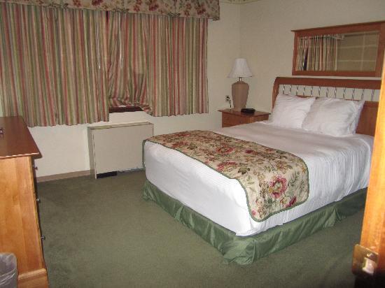 Regency Fairbanks Hotel : bedroom