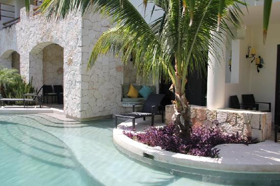 Secrets Maroma Beach Riviera Cancun: Swim out room