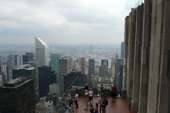 จุดชมวิวท็อปออฟเดอะร็อค: View from 87th floor