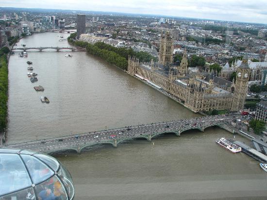 ลอนดอนอาย: a view from the pod