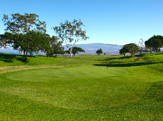Big Island Country Club: Great Fairways and grees
