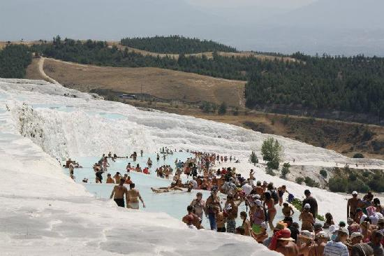 Pamukkale Thermal Pools: general view