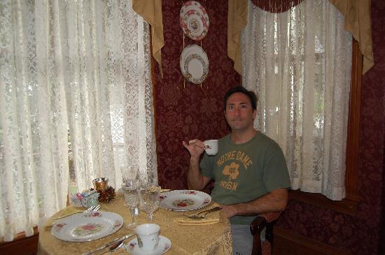 The Cedar House Inn: The breakfast