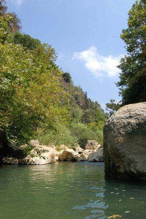 Beiteddine, Libanon: our favorite swimming area