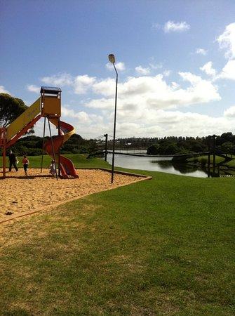 Lake Pertobe Adventure Playground: Adventure playground by lake pertobe
