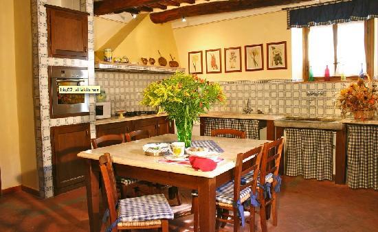 Casale Sodini: Kitchen Casale Sodini