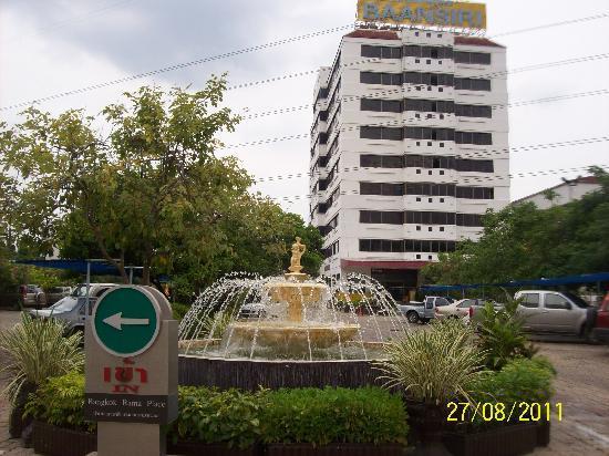 Bangkok Rama Hotel: entrance