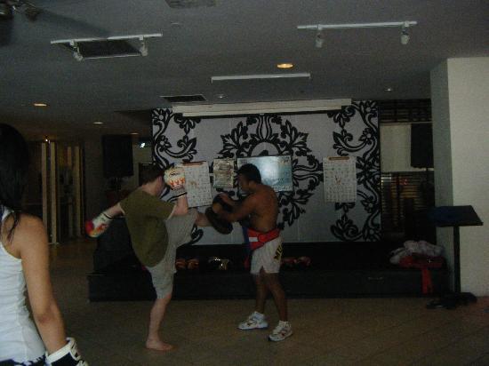 Club Med Bintan Island: Thai Boxing