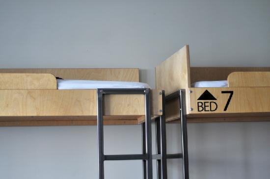 رايكجافيك داونتاون هوستل: Beds