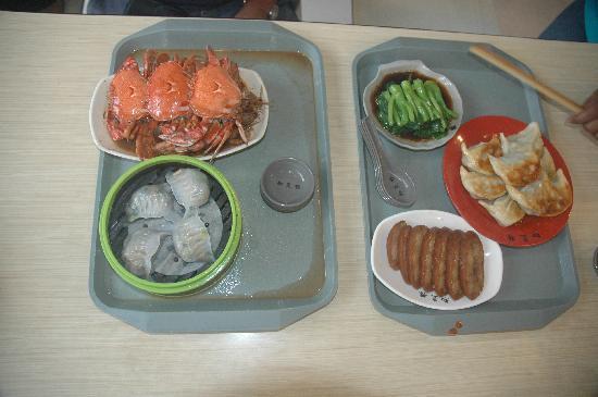 เลส์ สวีท โอเรียนท์ บันด์: Delicious food at Yuyuan