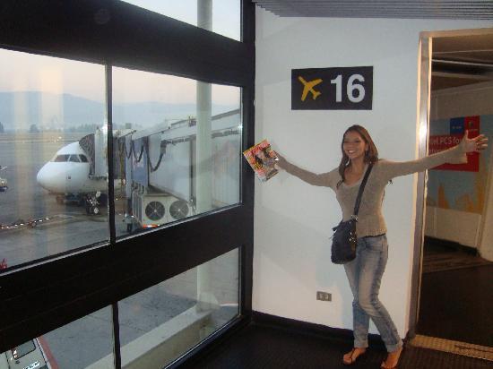 Hostal Providencia: en aeropuerto