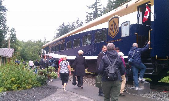 The Rocky Mountaineer: All aboard!