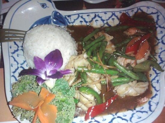 Lanna Thai Restaurant: seafood dish