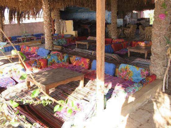 Sawa Camp: Rec area relax