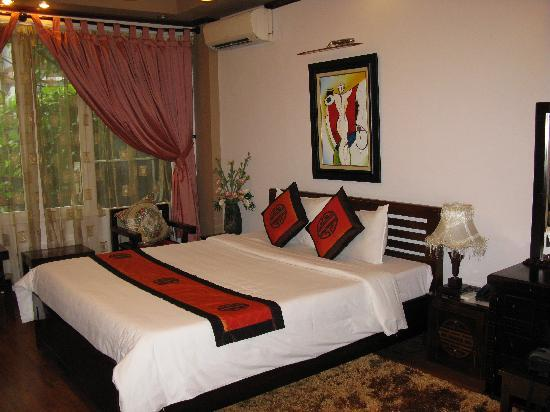 โรงแรมอินโดไชน่าโกลด์: deluxe room