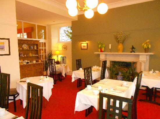 Shaftesbury Lodge: Dining