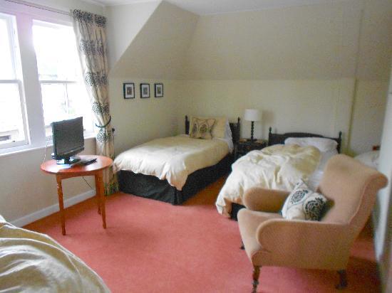 Shaftesbury Lodge: Room