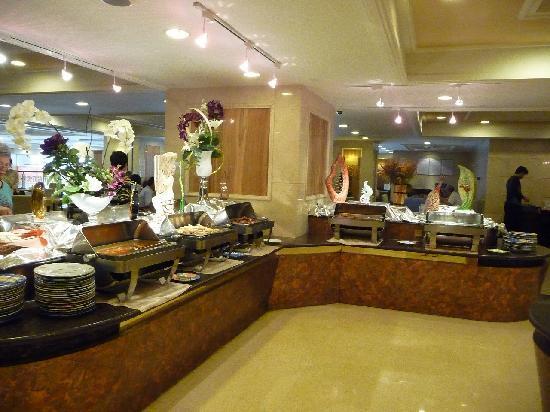 Rosedale Hotel Shenyang: 朝食レストラン