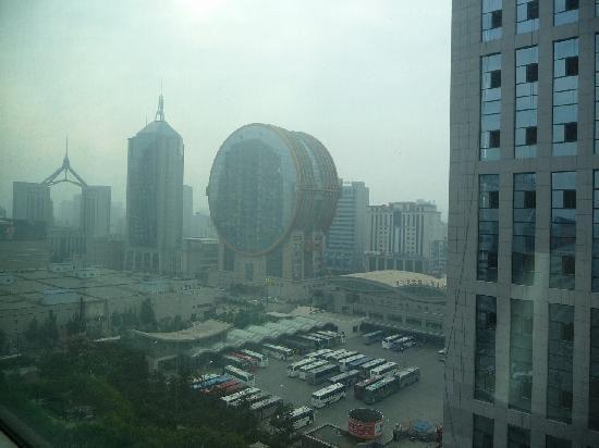 Rosedale Hotel Shenyang: 宿泊した部屋からの景色