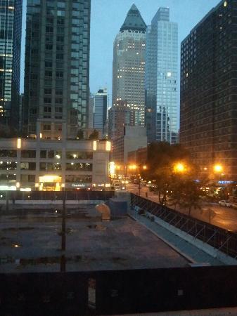 W55NY : 窓からの景色です。