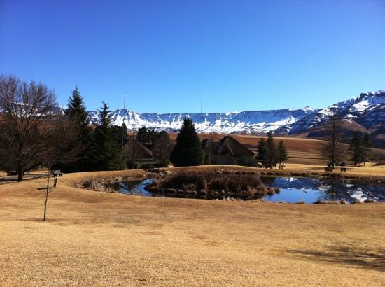 Underberg, South Africa: wintery escarpment
