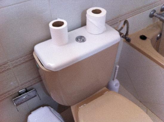 بارادايس كورت أبارتهوتل: bathroom