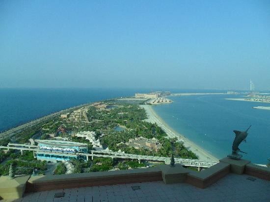 Atlantis, The Palm: top floor view