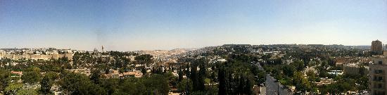 King Solomon Hotel: Jerusalem view from David Ha Melekh
