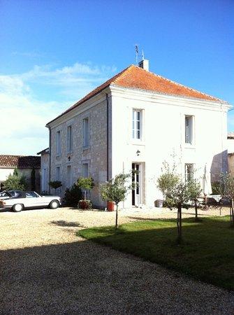 Birac, France : les beauries. bâtiment principal