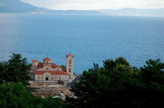 Ohrid, สาธารณรัฐมาซิโดเนีย: Plaosnik from the fortress