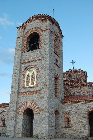 Ohrid, สาธารณรัฐมาซิโดเนีย: Bell tower of Plaosnik