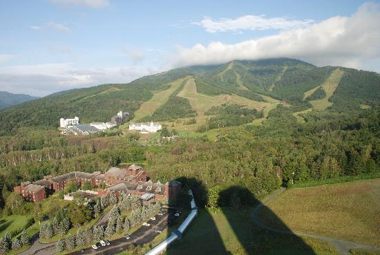 โฮชิโนะ รีสอร์ท โทมามุ เดอะ ทาวเวอร์: 部屋からの眺めです